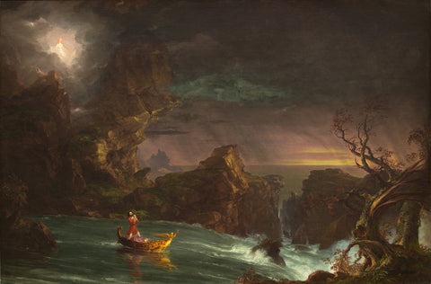 Thomas Cole - The Voyage of Life (Manhood)