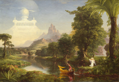 Thomas Cole - The Voyage of Life (Youth)