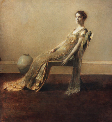 Thomas Dewing - Green and Gold