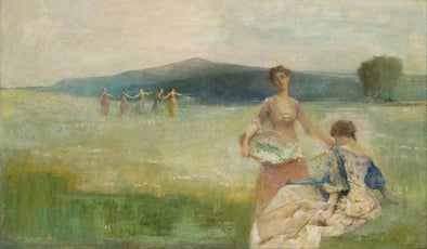 Thomas Dewing - Spring