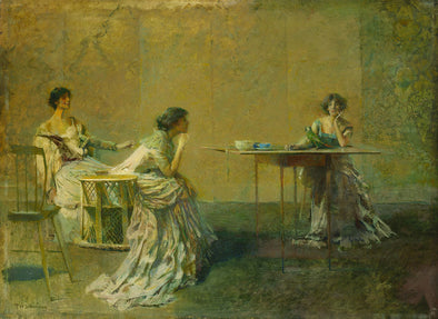 Thomas Dewing - The Gossip