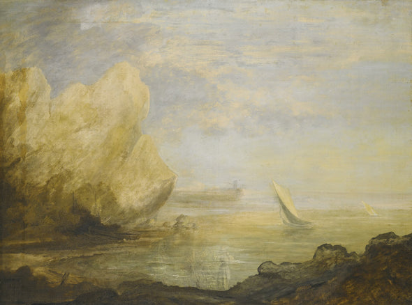 Thomas Gainsborough - A Coastal Landscape