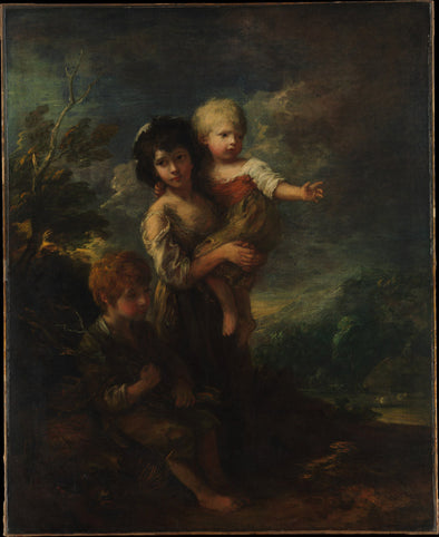 Thomas Gainsborough - Cottage Children (The Wood Gatherers)