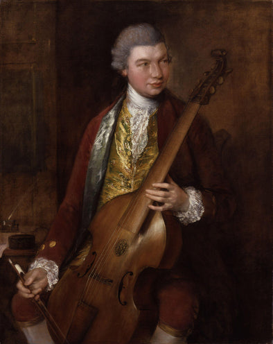 Thomas Gainsborough - Karl Friedrich Abel