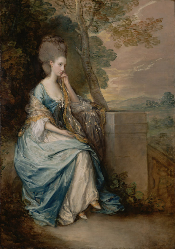 Thomas Gainsborough - Portrait of Anne, Countess of Chesterfield