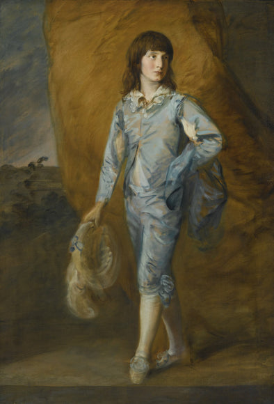 Thomas Gainsborough - The Blue Page