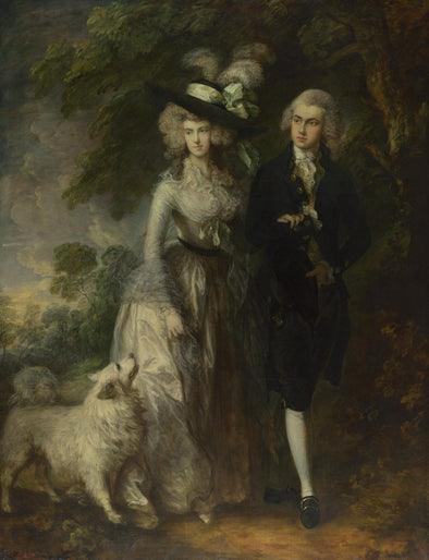 Thomas Gainsborough - The Morning Walk