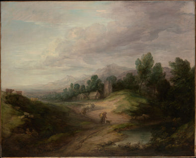 Thomas Gainsborough - Wooded Upland Landscape
