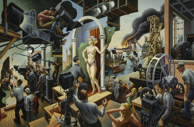 Thomas Hart Benton - Hollywood
