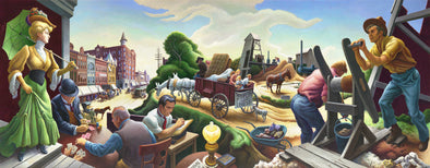 Thomas Hart Benton - Joplin at the Turn of the Century