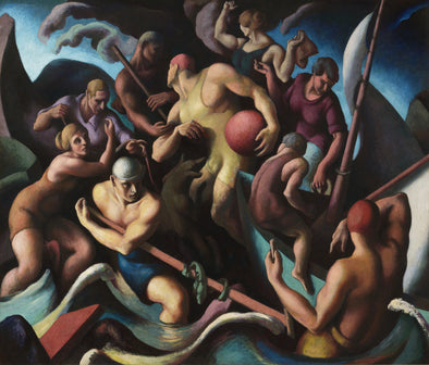 Thomas Hart Benton - People of Chilmark