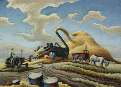 Thomas Hart Benton - Rice Threshing