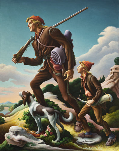 Thomas Hart Benton - The Kentuckian