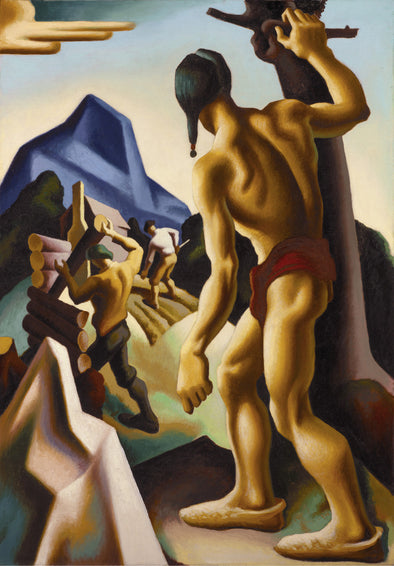 Thomas Hart Benton - The Lost Hunting Ground