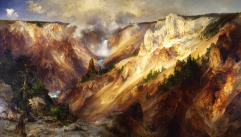 Thomas Moran - Grand Canyon of Yellow Stone