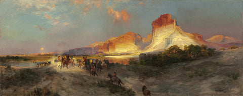 Thomas Moran - Green River, Wyoming