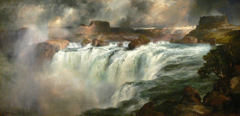 Thomas Moran - Shoshone Falls on the Snake River