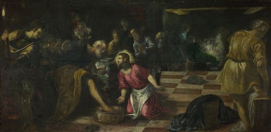 Tintoretto - Christ Washing the Disciples' Feet