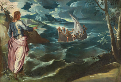 Tintoretto - Christ at the Sea of Galilee