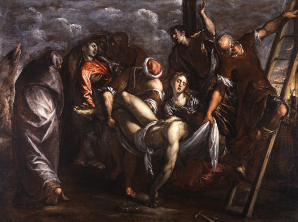 Tintoretto - Deposition from the Cross