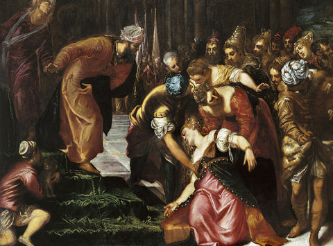 Tintoretto - Esther before Ahasuerus