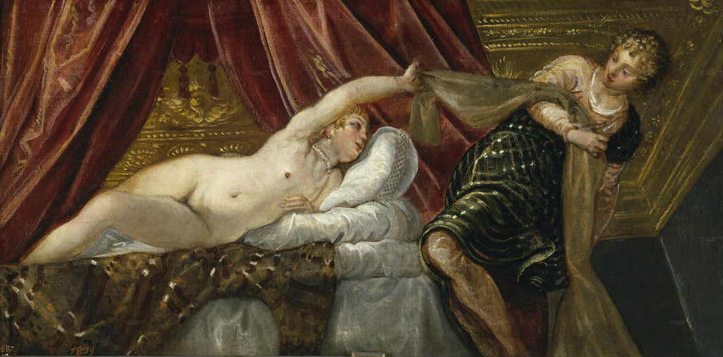 Tintoretto - Joseph and the Wife of Putiphar