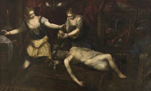 Tintoretto - Judith Beheading Holofernes