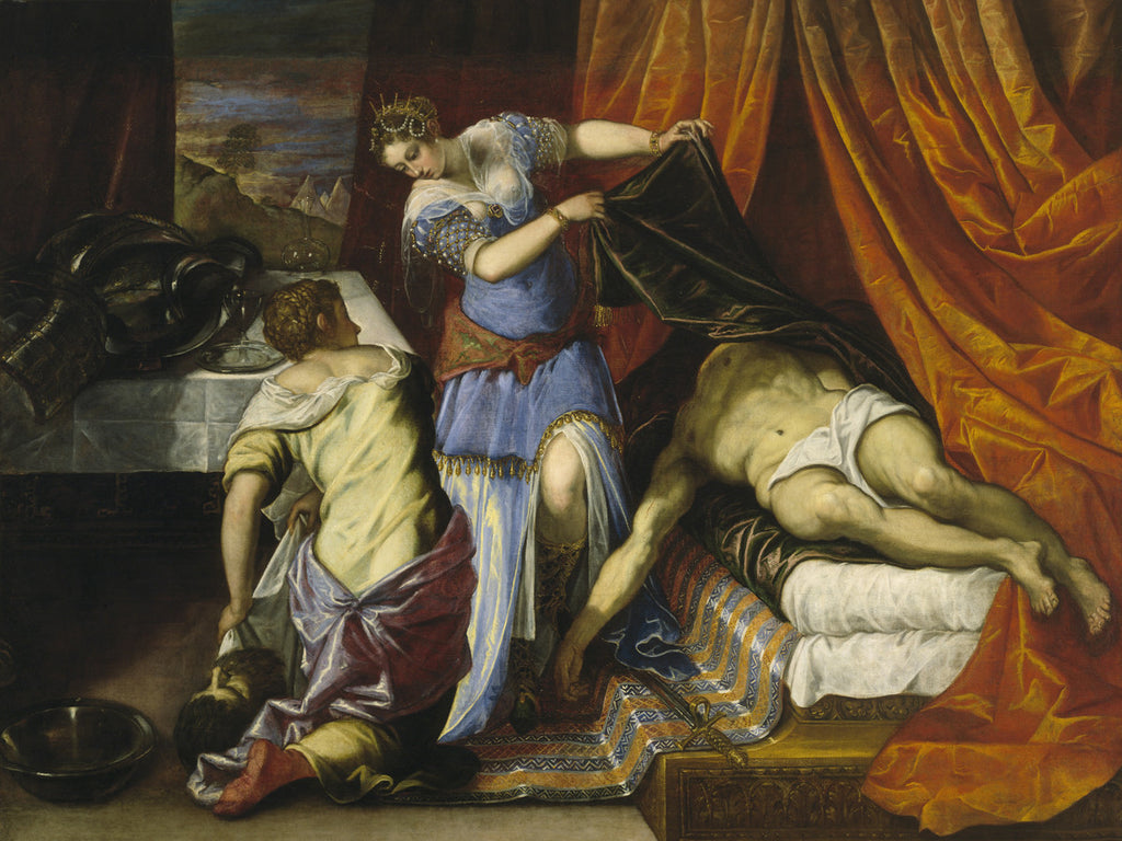 Tintoretto - Judith and Holofernes