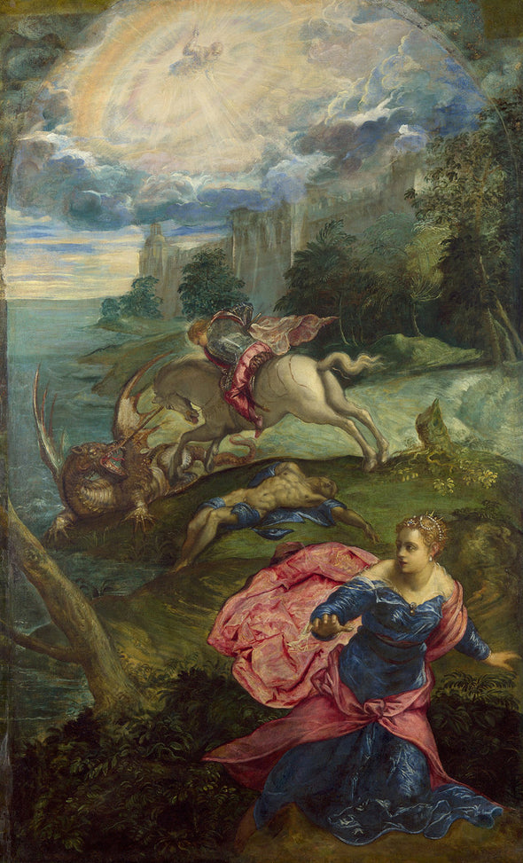 Tintoretto - Saint George and the Dragon