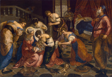 Tintoretto - The Birth of John the Baptist