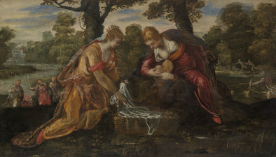 Tintoretto - The Finding of Moses