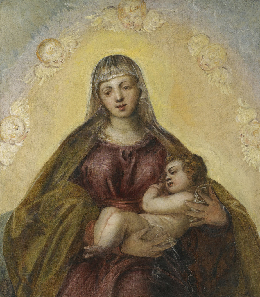 Tintoretto - The Madonna and Child
