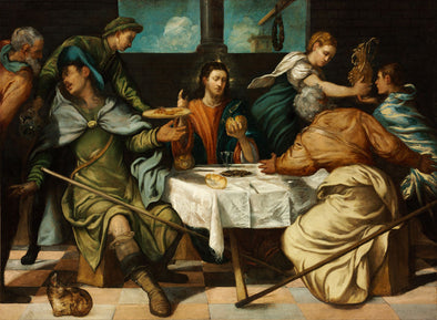 Tintoretto - The Supper at Emmaus