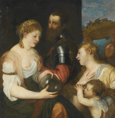 Titian - Allegory of Marriage