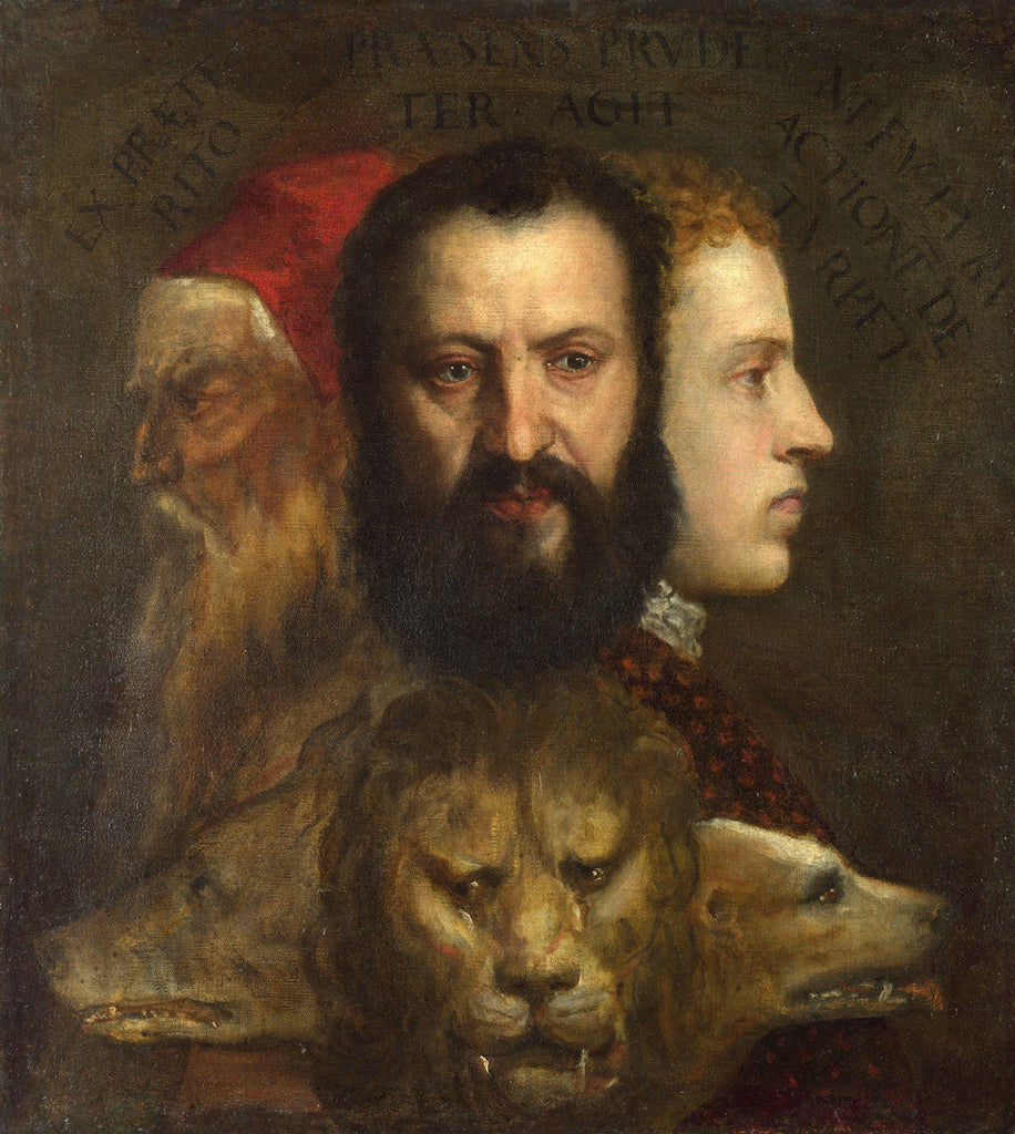 Titian - Allegory of Prudence