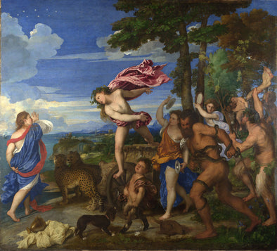 Titian - Bacchus and Ariadne