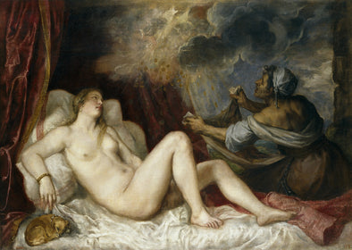 Titian - Danae receiving the Golden Rain
