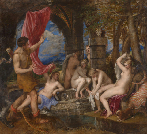 Titian - Diana and Actaeon