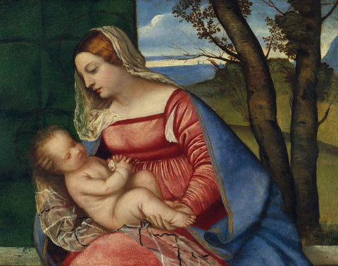 Titian - Madonna and Child