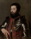 Titian - Portrait of a Man in Armor