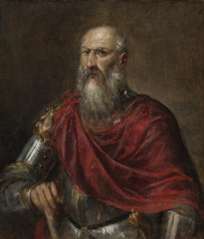 Titian - Portrait of an Admiral