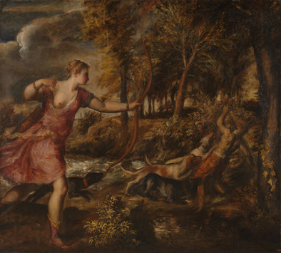 Titian - The Death of Actaeon