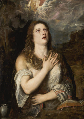 Titian - The Penitent Magdalene