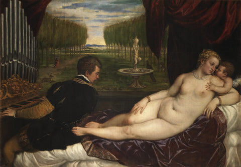 Titian - Venus and Music