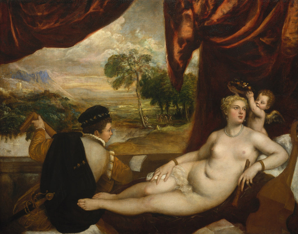 Titian - Venus and the Lute Player