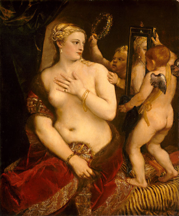Titian - Venus with a Mirror