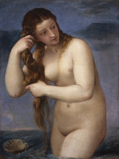 Titian - Venus Rising from the Sea