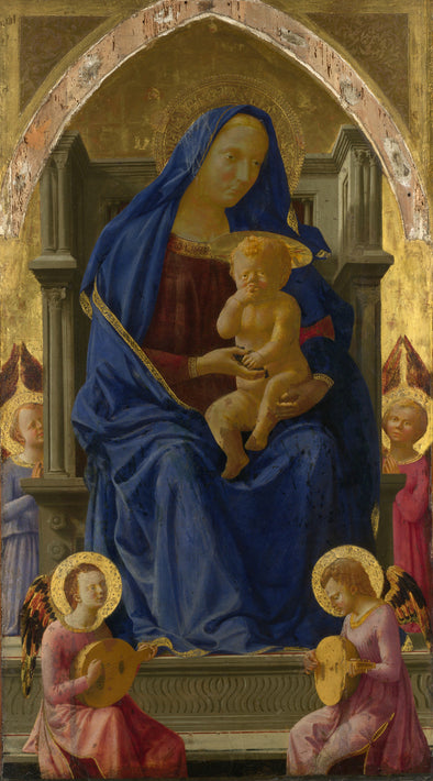 Tommaso Masaccio - Madonna and Child