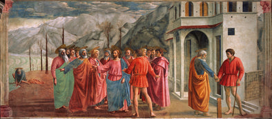 Tommaso Masaccio - The Tribute Money
