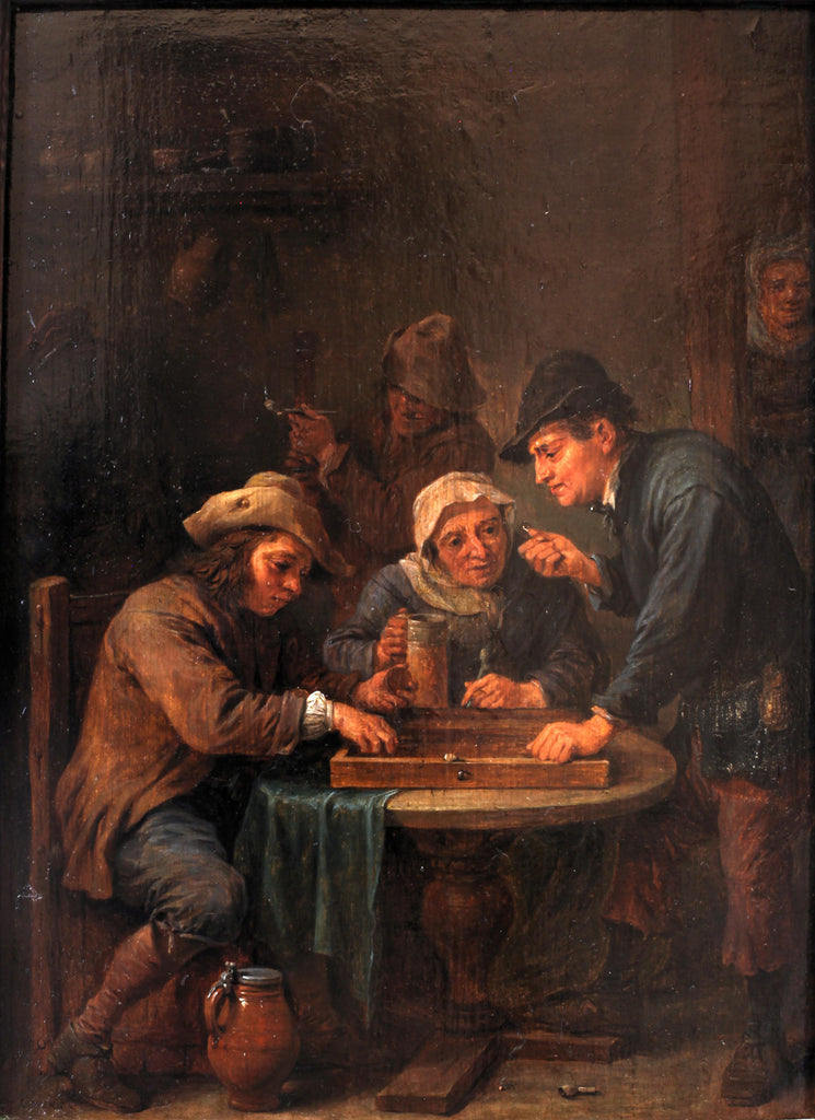 David Teniers the Younger - Trictrac Players